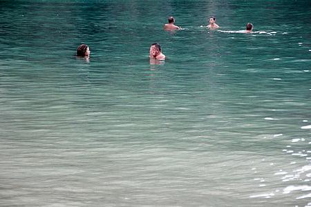 úszni, víz, Holiday, tenger, nyári, nedves, szabadtéri medence