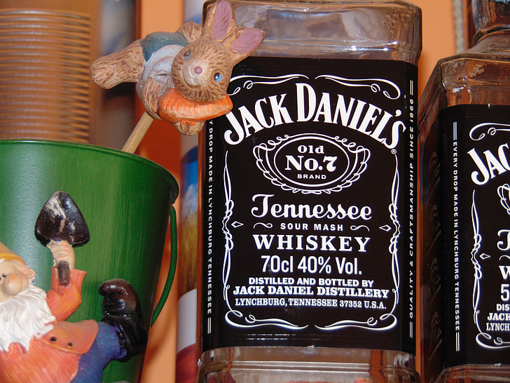 whisky, Jack daniels, beguda, l'alcohol, concentrat