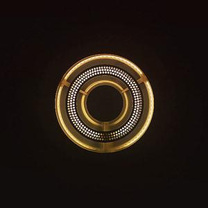 luz, círculo, forma, Lámpara, iluminación, ronda, decoración