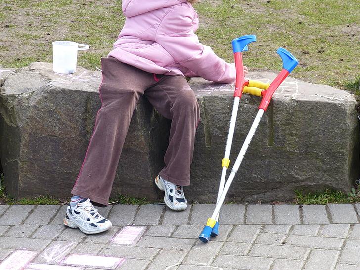 discapacitat, rehabilitació, problemes de mobilitat, coix, ser mòbil, eines, discapacitat física