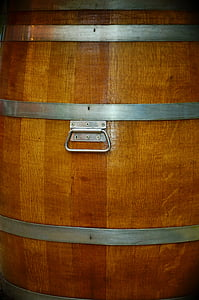 baril, tonneaux en bois, arrière-plan, modèle, liste de boissons, menu, vin