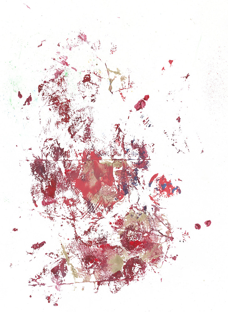 abstrak, Art, valgel taustal, taust, valge, Värviline