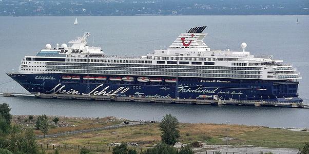 hamn, Holiday, kryssning, fartyg, havet, ship reser, Östersjön