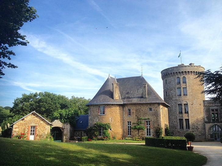 Château de la flocellière, Vendée, houden