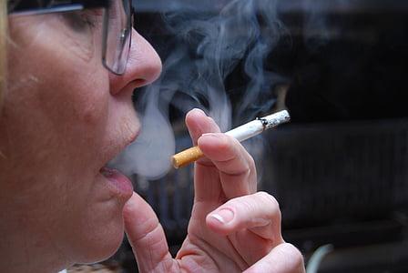 za nepušače, dim, cigareta, duhana, ovisnost, nikotin, rak