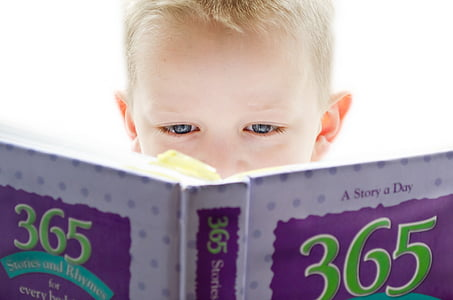 learning, development, looking, people, child, reading, book