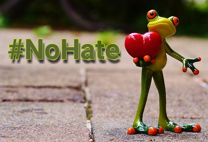 ingen hader, handling, mod cybermobning, hashtag, had no, had indlæg, angreb