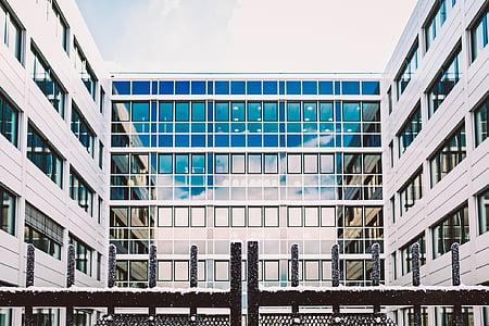 hoonete, arhitektuur, disain, kaasaegne, klaas, Windows, linna areenil