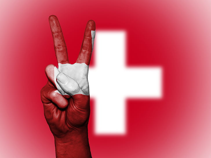 switzerland, peace, hand, nation, background, banner, colors