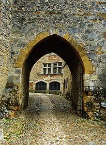 Pérouges, poble, bona pinta, França, medieval, ciutat, pedres