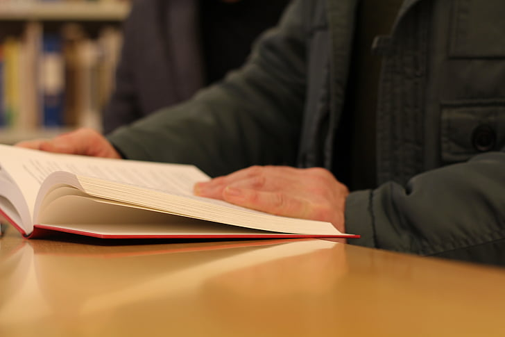 boek, literatuur, lezen, bibliotheek