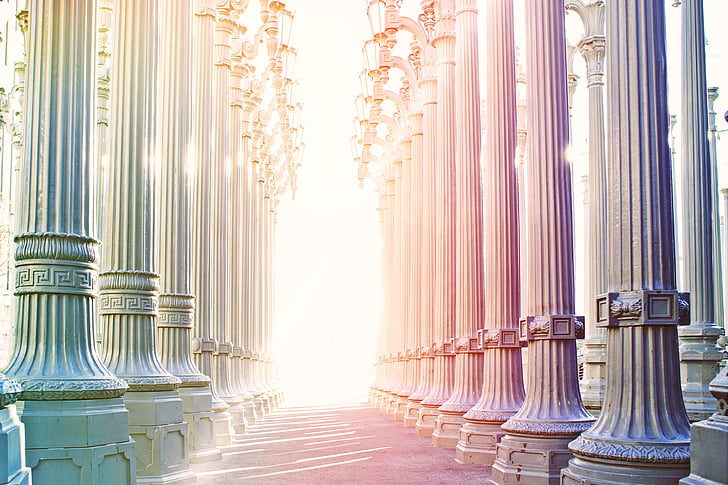 columnar, arcade, architecture, building, construction art, culture, gang