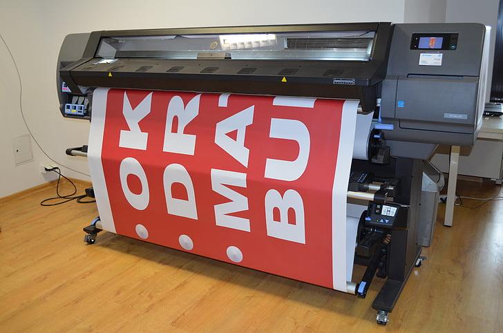imprimir, màquina, electrònica, tecnologia, impremta