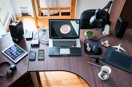 computer, working, office, business, technology, work, laptop