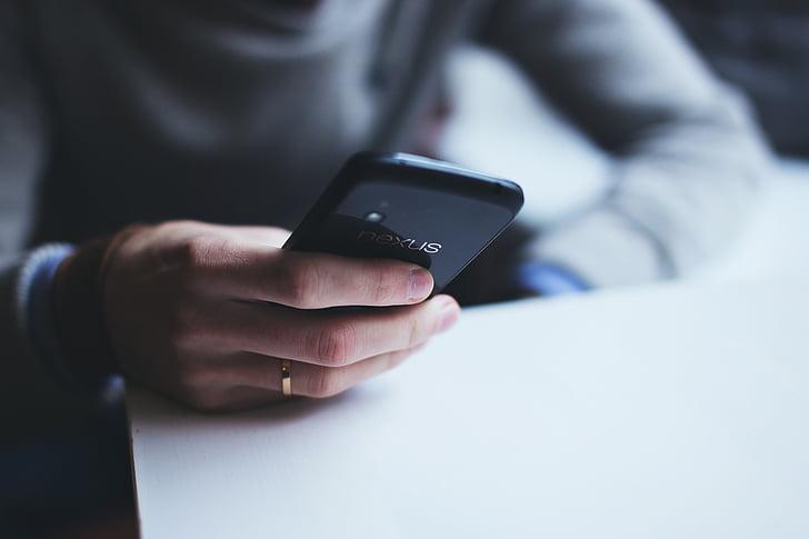 google nexus 4, hand, lg, mobile phone, smartphone, technology, touch