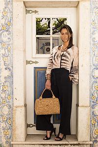 sievietes, somas, ilgtspējīga, manekens, durvis