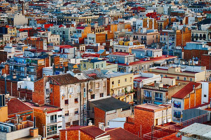 เมือง, อาคาร, ในเมือง, สถาปัตยกรรม, อพาร์ทเมนท์, ทิวทัศน์, ยุโรป