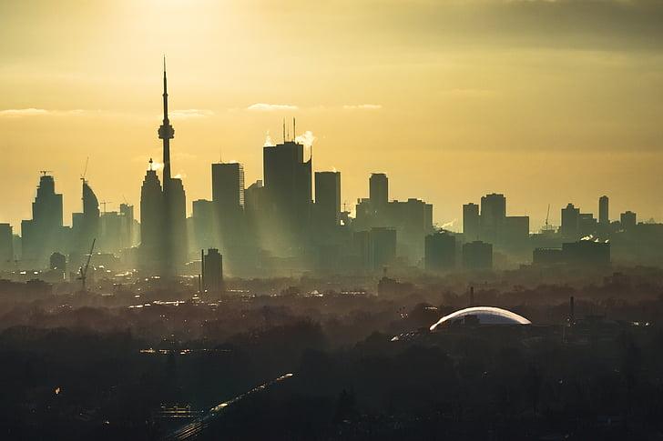 ciutat, ciutat, llum, paisatge urbà, urbà, urbà, carrer