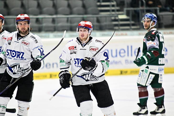 Jääkiekko, Schwenningen, Wild wings, urheilu, kilpailu, urheilussa