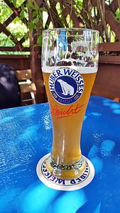 Hefeweizen, bier, witbier, drankje, verfrissing, dorst, dorstlesser