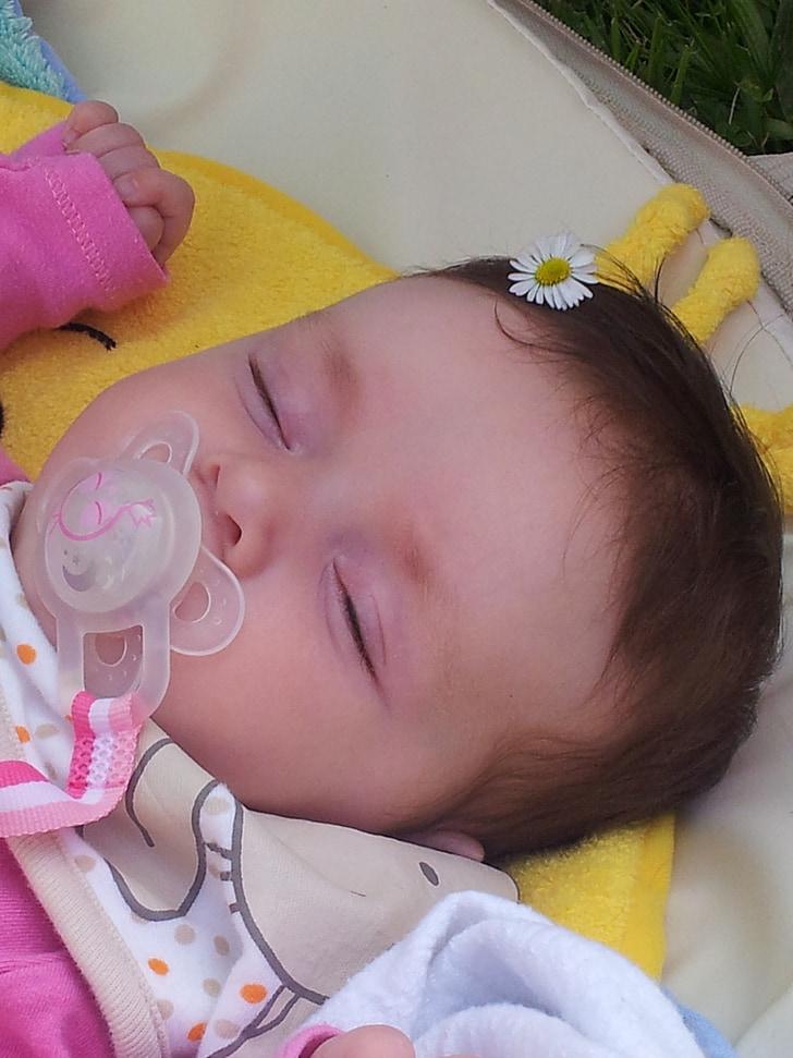 nadó, son, educació infantil, nen petit, nadons, dormint, la bella dorment