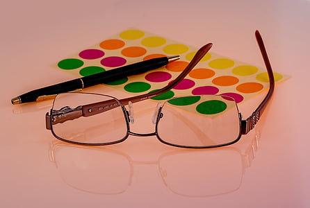 espectacles, ulleres, visió, ulleres, ull, vista, òptica