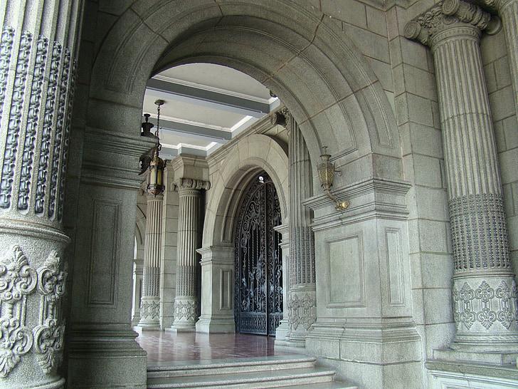 arhitektuur, veerud, arhitektuuri, vana, kivi, samba