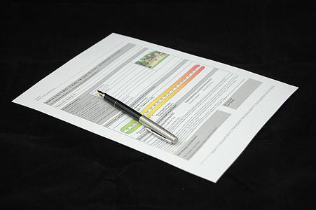 giấy chứng nhận năng lượng, tài liệu, thỏa thuận, tài liệu, đăng nhập, kinh doanh, giấy