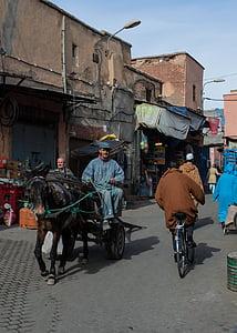Ma Rốc, Ma-Rốc, Medina, Street, thị trường, kinh doanh, gia vị