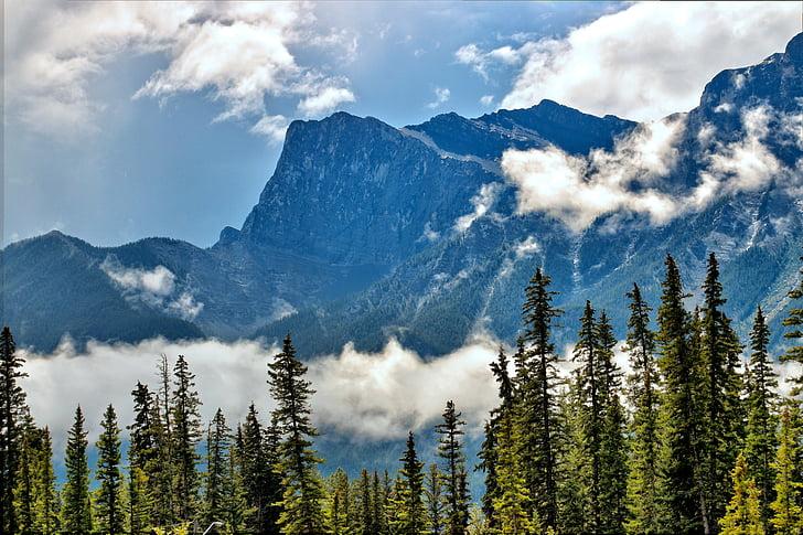 Mountain, hory, vonku, Príroda, Vonkajší, letné, scénické