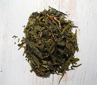 čajové lístky, zelený čaj, čaj, šálka, sušené listy, jedlo, suché