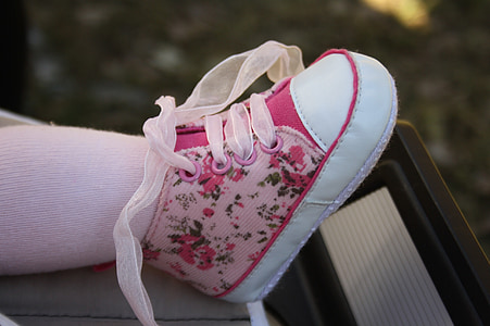 baby, girl, child, shoe, foot, small, human