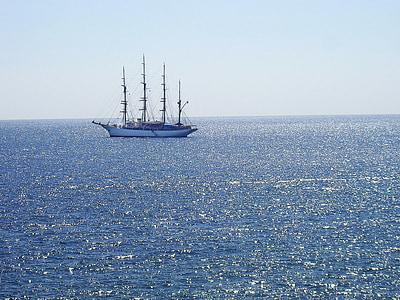 ocean, boat, ship, tradition, sea, sailing, yacht