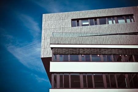 arhitektuur, Office, hoone, akna, City, fassaad, pilvelõhkuja