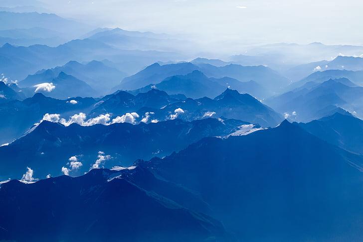 landskap, bergen, naturen, Utomhus, natursköna, Mountain, bergstopp