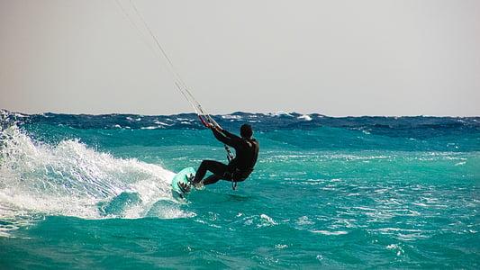 kite surf, sport, Surf, mer, extrême, surfeur, Conseil d'administration