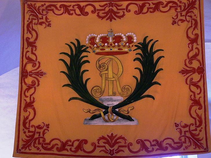 lá cờ, Huy hiệu, biểu tượng