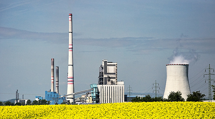 biofuel, power station, rapeseed, alternative energy sources, energetics, production, the industry