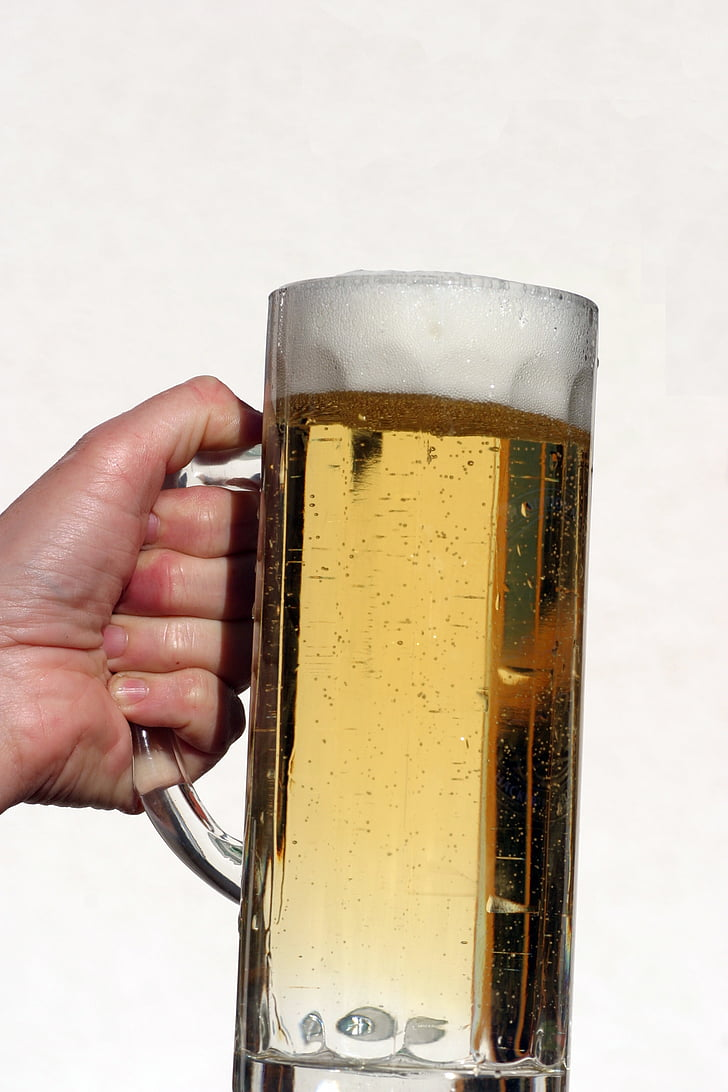õlu, kruus õlut, alkoholi