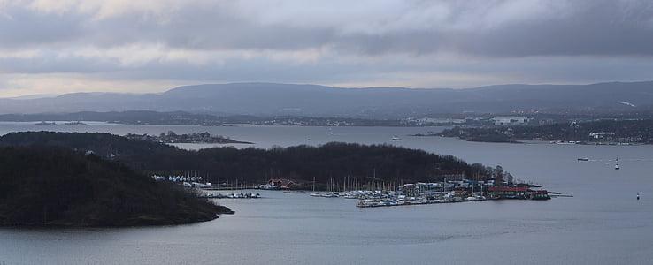 Oslofjorden, Norge, Oslo, staden, Scandinavia, Holiday, VisitOSLO