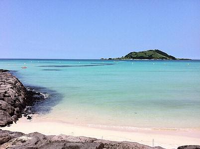 illa de Jeju, Mar de Jeju, Jeju, OLLE branquials, Mar, Mar maragda