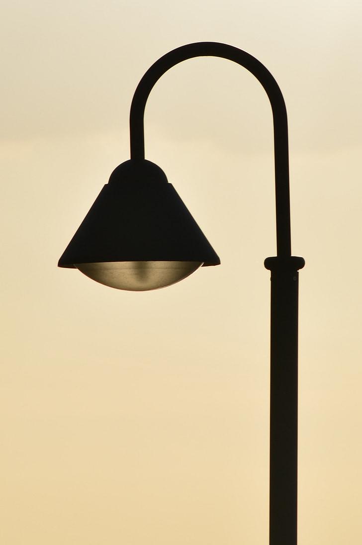 gatvė šviesa, lempa, žibintai