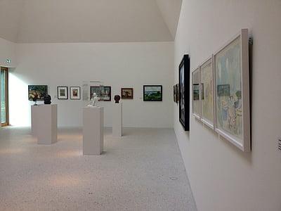 muuseum, Galerii, Art, maali, näitus, kunstnikud