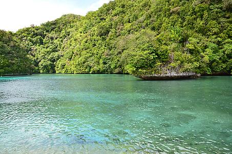 Palau beach, Bay, tó, tó, tenger, sziget, természet