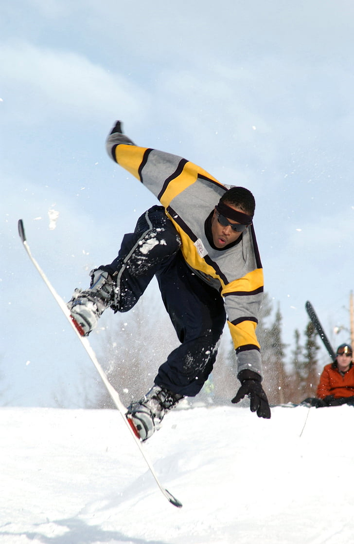 snowboarding, snowboarder, sport, fun, mountain, snowboard, winter