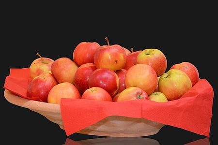 애플, 셸, 과일, 음식, 비타민, 과일, 건강 한