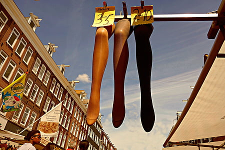 leg, female leg, mannequin, stocking, stocking on leg, presentation, market