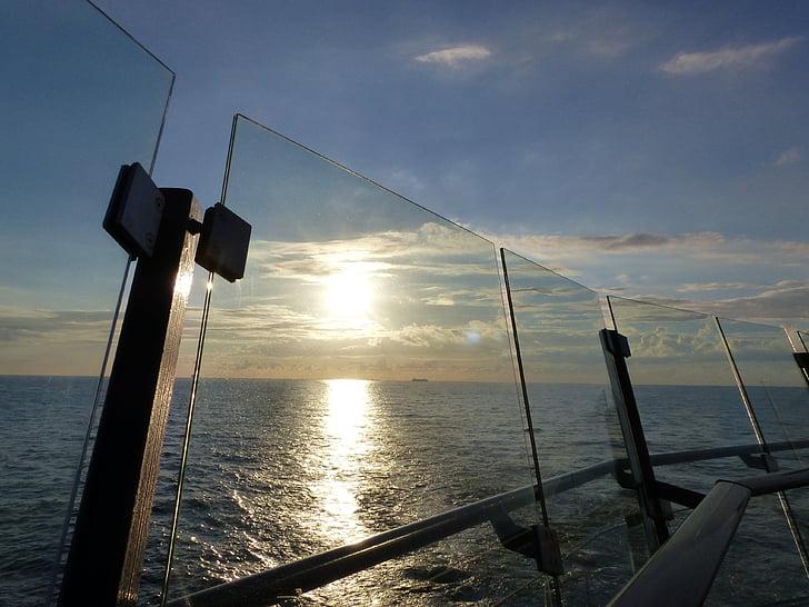 kryssning, vatten, Holiday, kryssningsfartyg, havet, ship reser