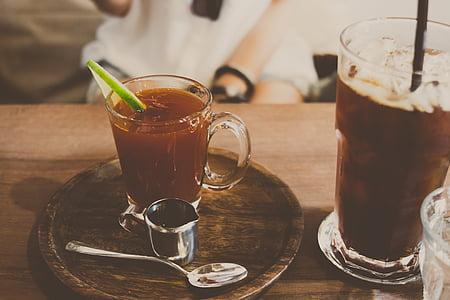 饮料, 饮料, 苏打水, 酒精, 果汁, 鸡尾酒, 表