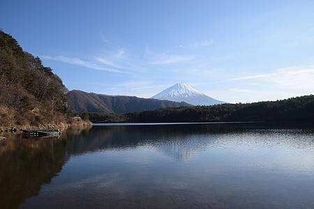 Llac, escèniques, reflexió, natural, calma, Pau, muntanya